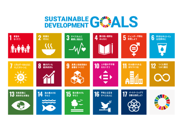 ロゴ:Sustainable Development Goals (SDGs)